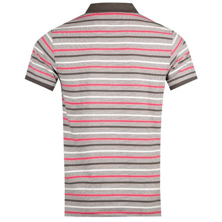 Golf undefined Stripe Sport Polo Blacksand - AW18 made by Psycho Bunny