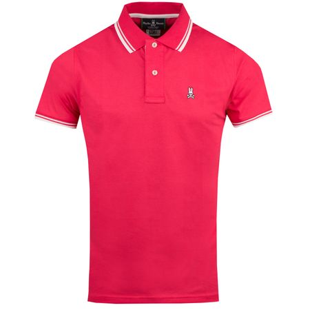 Golf undefined Tonal Stripe Polo Carnation - AW18 made by Psycho Bunny