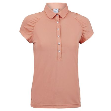Golf undefined Daily Ariana Mango Cap Sleeve Polo made by Daily Sports