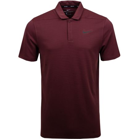 Polo Aeroreact Victory Polo Burgundy Crush/Black - AW18 Nike Golf Picture