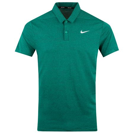 Golf undefined Dry Heather Texture Polo Neptune Green - AW18 made by Nike