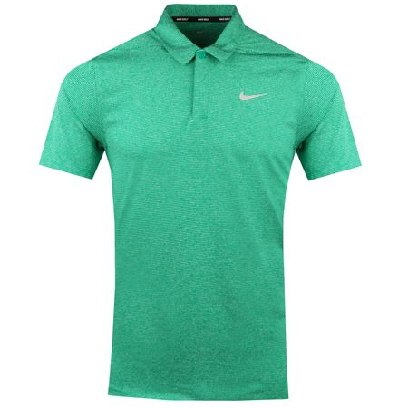 Polo Zonal Cooling Polo Stripe Neptune Green - AW18 Nike Golf Picture