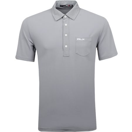 Golf undefined Tech Pique with Woven Details Museum Grey - AW18 made by Polo Ralph Lauren