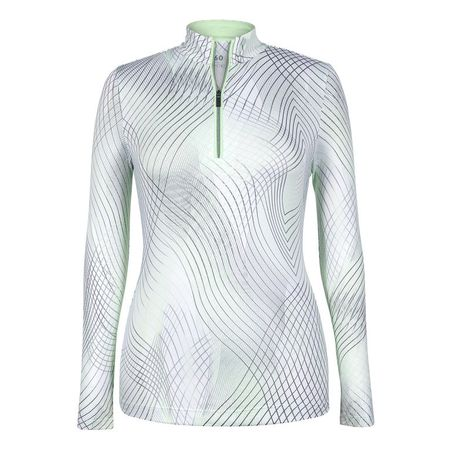 Golf undefined Tail Enchantment Print Long Sleeve 1/4 Zip made by Tail Activewear