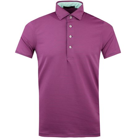 Golf undefined Saranac Polo Maltese/Ruby - AW18 made by Greyson
