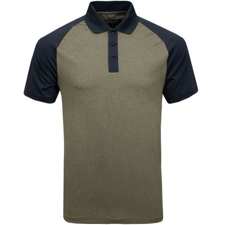 Golf undefined Contrast Panel Polo Military - AW18 made by Wolsey