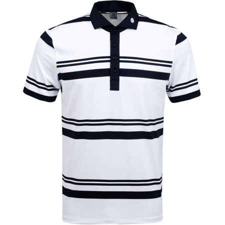 Polo Double Stripe Polo Snow - AW18 G/FORE Picture