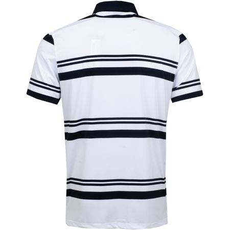 Golf undefined Double Stripe Polo Snow - AW18 made by G/FORE