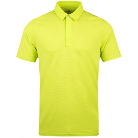 Golf undefined Moving Day Polo Lime Punch - AW18 made by Puma Golf