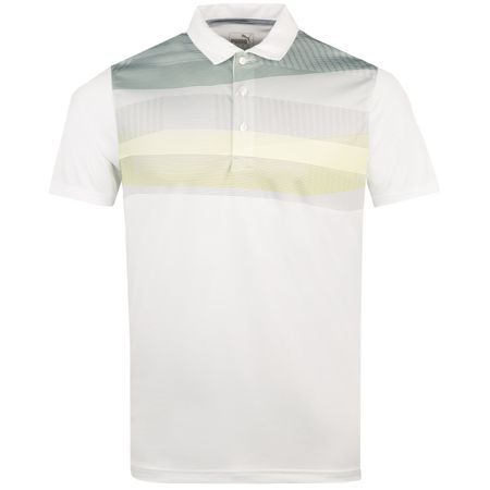 Golf undefined PWRCOOL Refraction Polo Laurel Wreath - AW18 made by Puma Golf