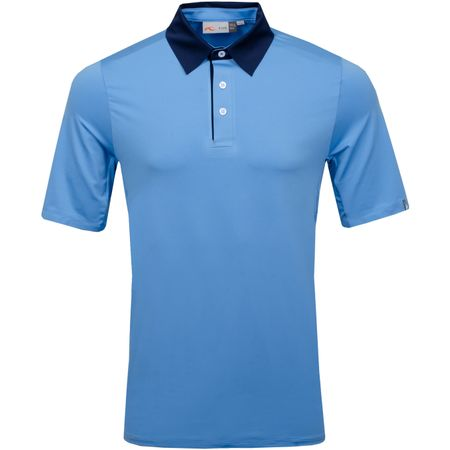 Golf undefined Superload Polo Silver Lake/Atlanta Blue - AW18 made by Kjus