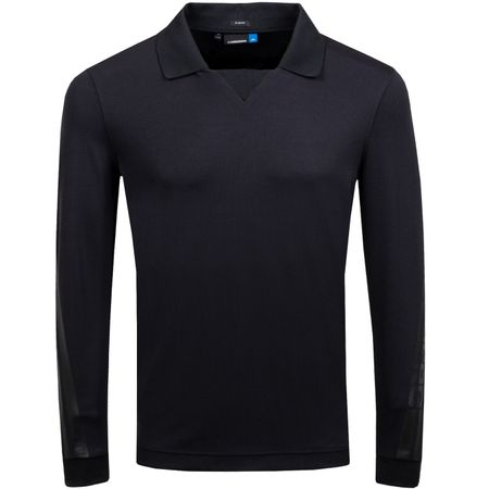 Golf undefined Elias LS Slim Fit Lux Pique Black - AW18 made by J.Lindeberg