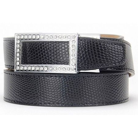 Golf undefined Nexbelt Allie Black Women's Belt made by Nexbelt