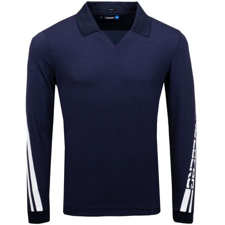 Golf undefined Elias LS Slim Fit Lux Pique JL Navy - AW18 made by J.Lindeberg