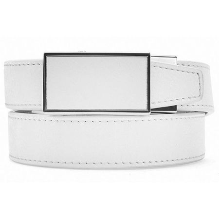 Golf undefined Nexbelt Sleek White Women's Belt made by Nexbelt