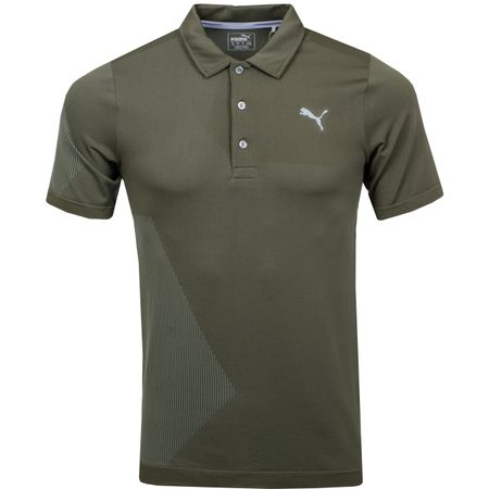 Golf undefined Evoknit Dassler Polo Forest Night - AW18 made by Puma Golf