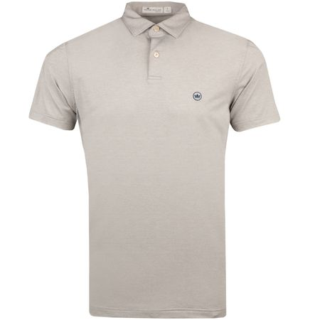 Polo Solid Stretch Jersey Polo Tour Fit Gale Melange - AW18 Peter Millar Picture