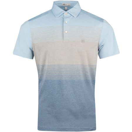 Polo Farley Engineered Stripe Stretch Jersey Polo Cottage Blue - AW18 Peter Millar Picture