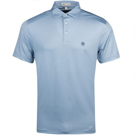 Polo Pointer Printed Multi Mini Polka Dot Stretch Jersey Polo Infinity - AW18 Peter Millar Picture