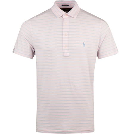 Golf undefined Stripe Stretch Vintage Lisle White/Garden Pink/Austin Blue - AW18 made by Polo Ralph Lauren