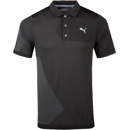 Golf undefined Evoknit Dassler Polo Puma Black - AW18 made by Puma Golf