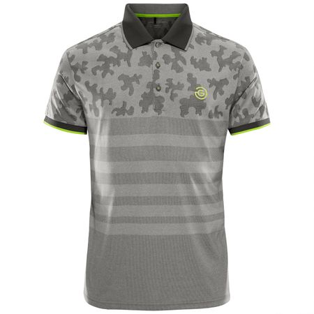 Golf undefined E-Empflage Polo Iron Grey/Green - AW18 made by Galvin Green