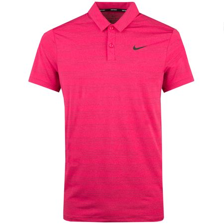Golf undefined Dry Heather Texture Polo Watermelon - AW18 made by Nike Golf