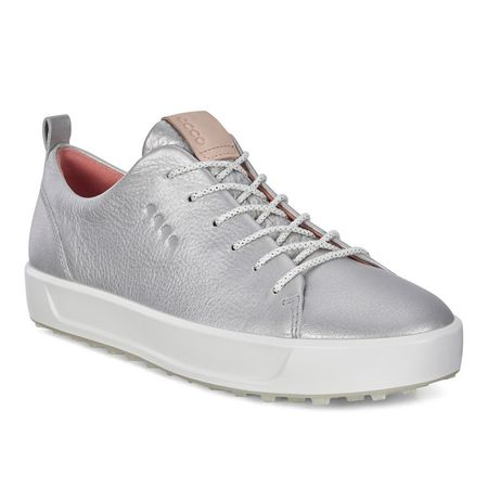 Golf undefined ECCO Golf Soft Low Women's Golf Shoe - Silver made by ECCO