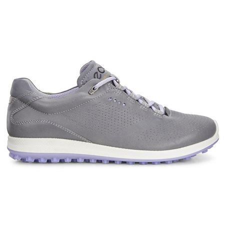 Golf undefined ECCO BIOM Hybrid 2 Perf Women's Golf Shoe - Grey/Purple made by ECCO