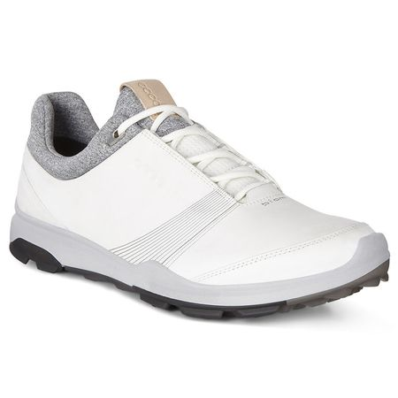 Shoes ECCO BIOM Hybrid 3 GTX Women's Golf Shoe - White/Black ECCO Picture