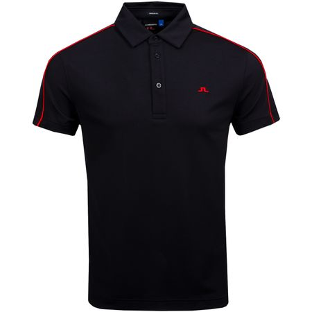 Polo Club T Regular Fit Lux Pique Black - AW18 J.Lindeberg Picture