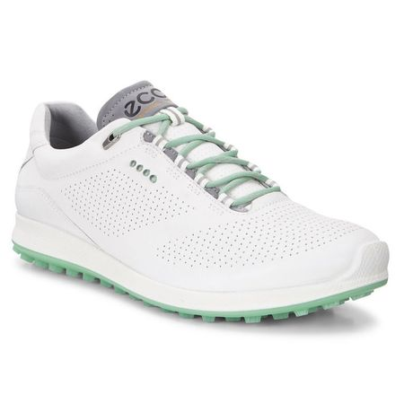 Golf undefined ECCO BIOM Hybrid 2 Perf Women's Golf Shoe - White/Green made by ECCO