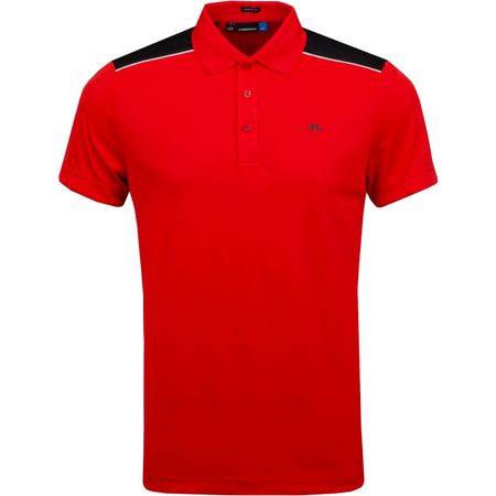 Golf undefined Matty Regular TX Jersey Racing Red - AW18 made by J.Lindeberg