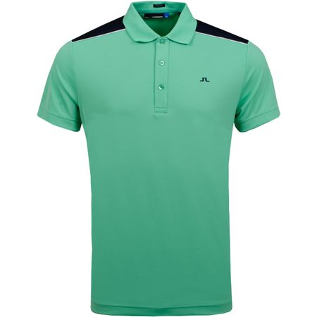 Polo Matty Regular TX Jersey Fresh Green - AW18 J.Lindeberg Picture