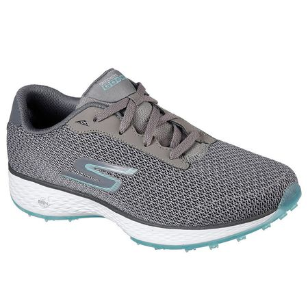 Shoes Skechers GO GOLF Eagle Range Women's Golf Shoe - Grey/Blue Skechers Picture