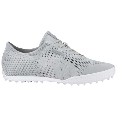Shoes PUMA Monolite Cat Woven Women's Golf Shoe - Grey Puma Golf Picture