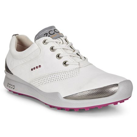 Golf undefined ECCO BIOM Hybrid Women's Golf Shoe - White/Pink made by ECCO