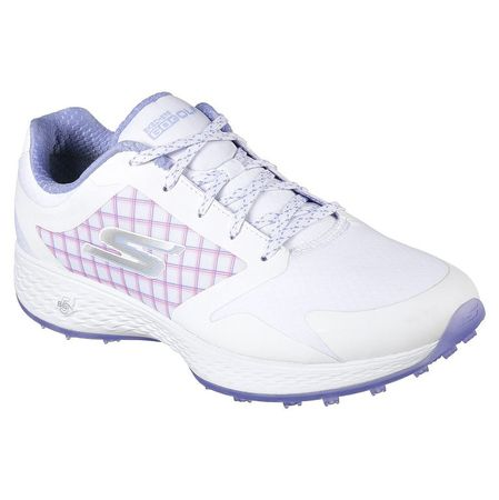Golf undefined Skechers Go Golf Eagle Rival Women's Golf Shoe - White/Purple made by Skechers