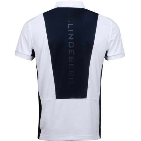 Polo Dario Slim Fit TX Jersey+ White - 2019 J.Lindeberg Picture
