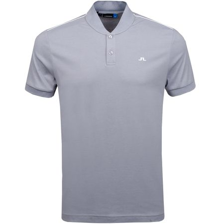 Golf undefined Bevin Cotton Poly Stone Grey Melange - AW18 made by J.Lindeberg