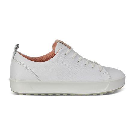 Shoes ECCO Golf Soft Low Women's Golf Shoe - White ECCO Picture