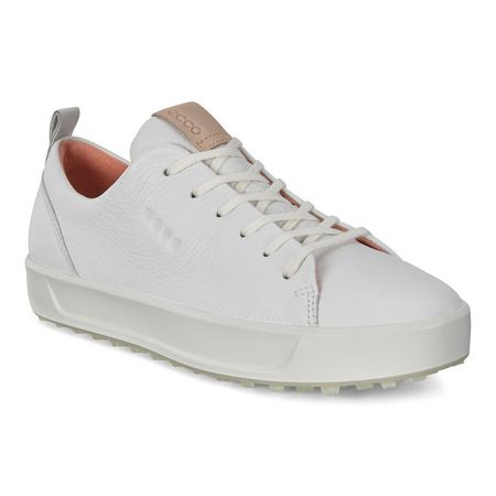 Golf undefined ECCO Golf Soft Low Women's Golf Shoe - White made by ECCO