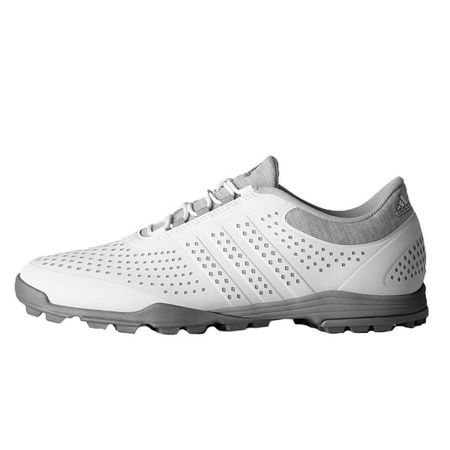 Golf undefined adidas adiPure Sport Women's Golf Shoe - White/Grey made by Adidas Golf