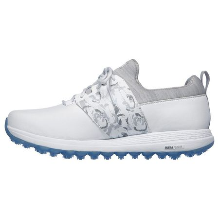 Golf undefined GO GOLF Max Lag Women's Golf Shoe - White/Grey made by Skechers