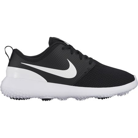 Golf undefined Nike Roshe G Women's Golf Shoe - Black/White made by Nike