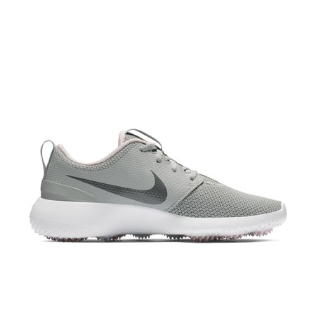 Golf undefined Roshe G Women's Golf Shoe - Grey/Pink made by Nike