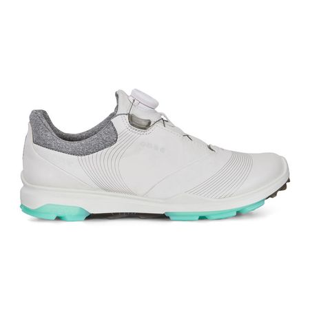 Golf undefined ECCO BIOM Hybrid 3 BOA Women's Golf Shoe - White/Green made by ECCO