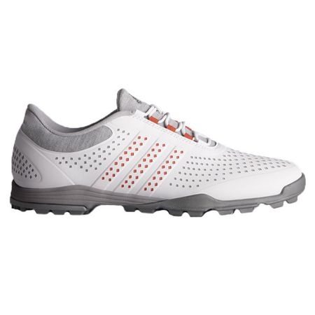 Golf undefined adidas adiPure Sport Women's Golf Shoe - Grey/Pink made by Adidas Golf