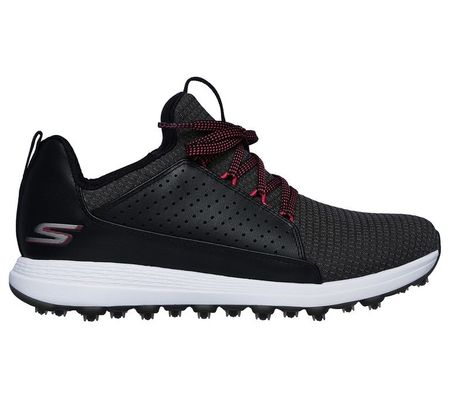 Shoes GO GOLF Max Mojo Women's Golf Shoe - Black/Pink Skechers Picture