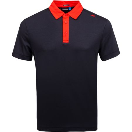 Golf undefined Henry Regular Fit Lux Pique Black - AW18 made by J.Lindeberg